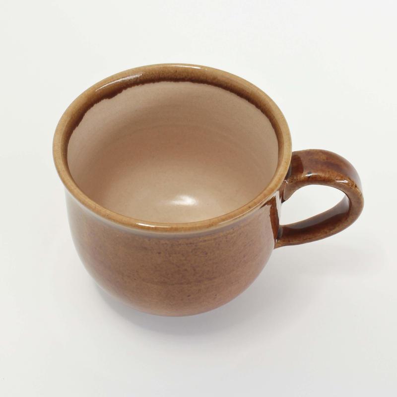 16 マグカップ 無地キャラメル 木本紗綾香