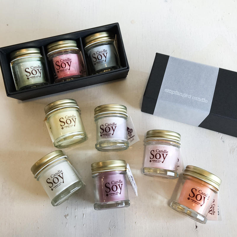 SOY candle mini Gift set / empfangen candle