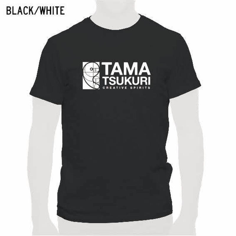 タマスピTシャツ ブラック/メンズ・レディース