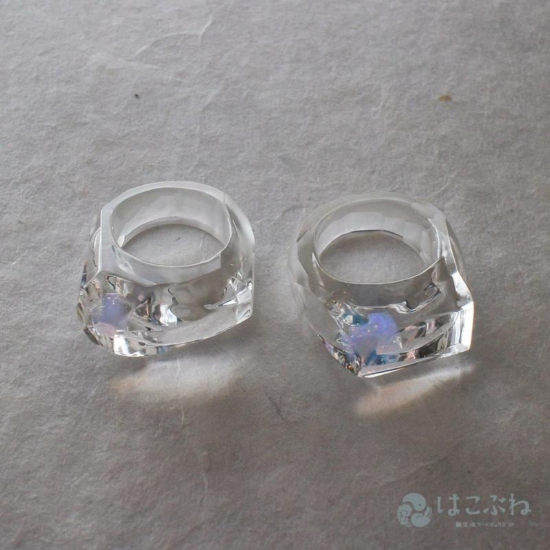 Sugar Rock Ring  / kamunabiglass