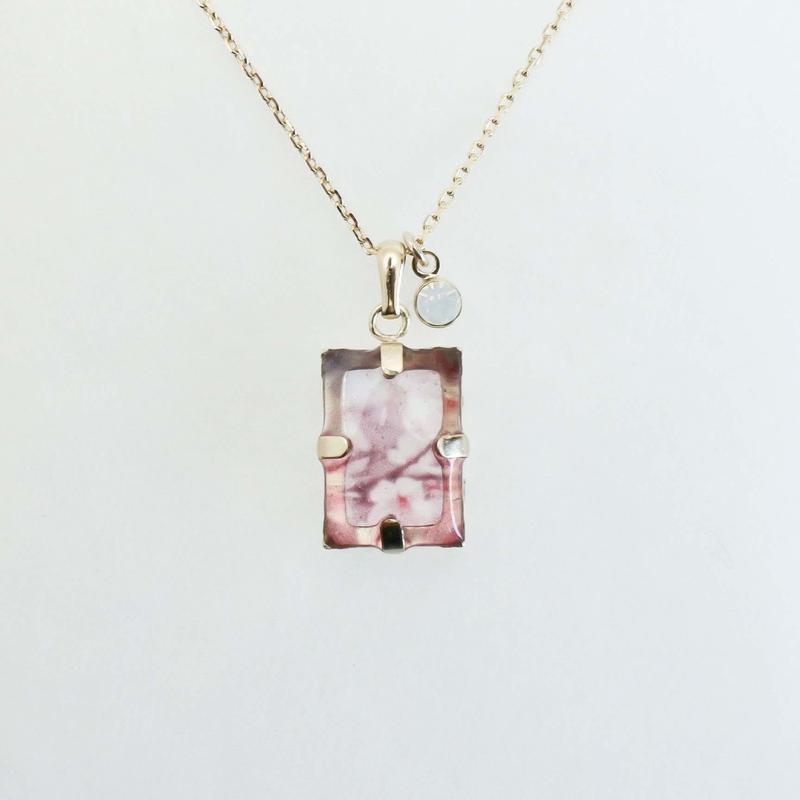 いつかのどこかのネックレス中粒 #木次の桜 / CONNI