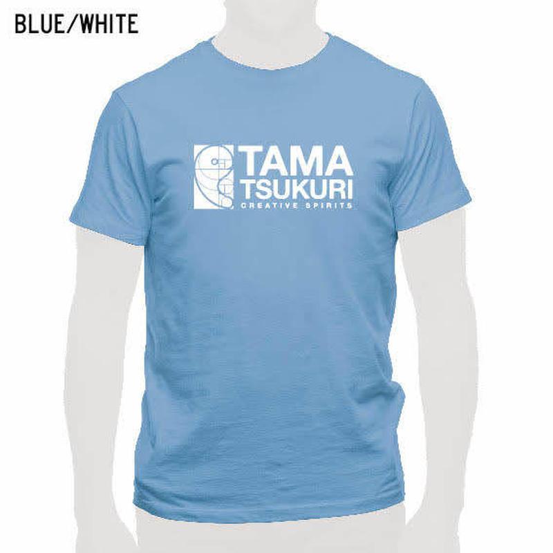 タマスピTシャツ ブルー/メンズ・レディース