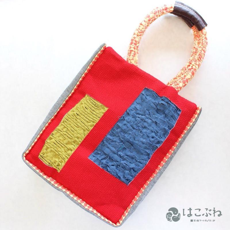 織る編む縫うBag #3 majibon