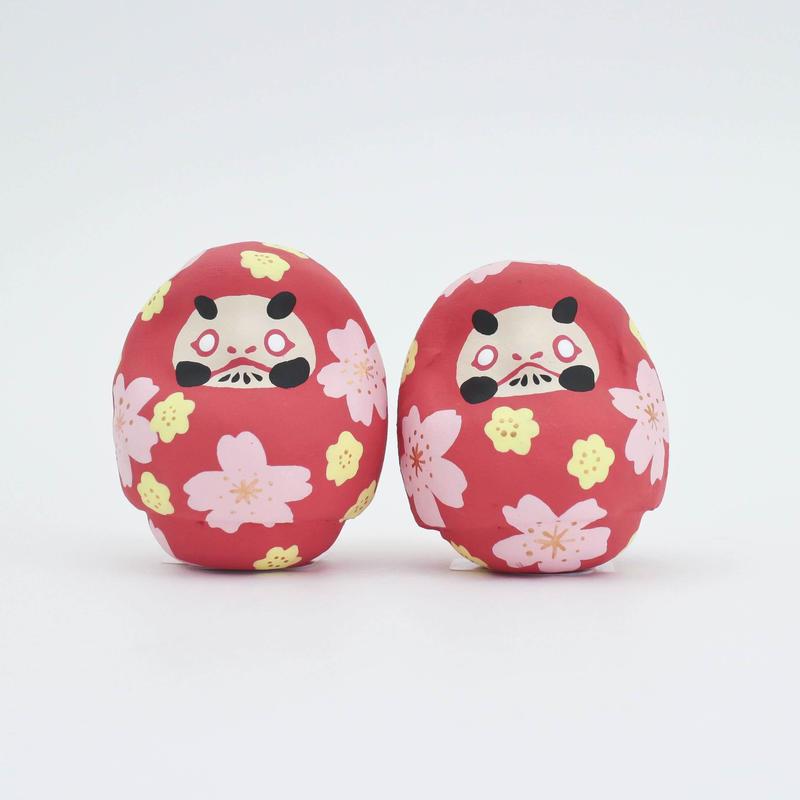桜だるま・朱ベース / 山口さくら