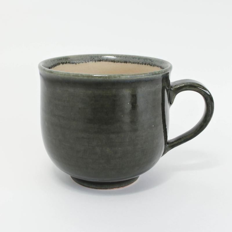 16 マグカップ 無地ミドリ 木本紗綾香