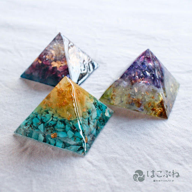 ピラミッドオルゴナイト P1-P3 nohana