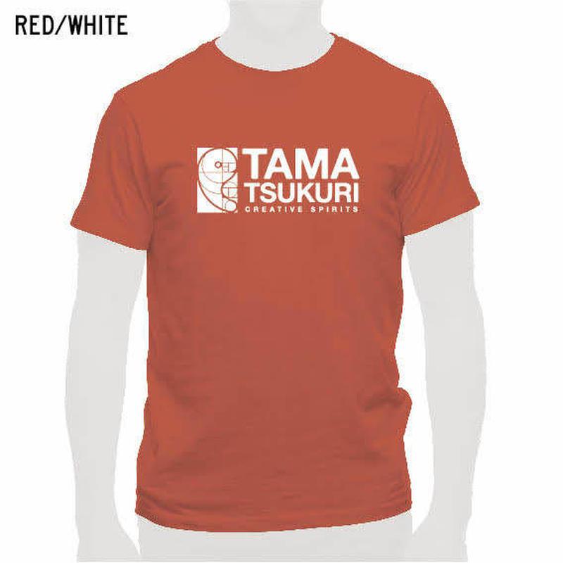 タマスピTシャツ レッド/メンズ・レディース