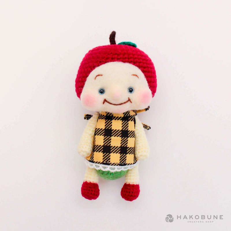 あみぐるみ フルリりんごちゃん Minamin*
