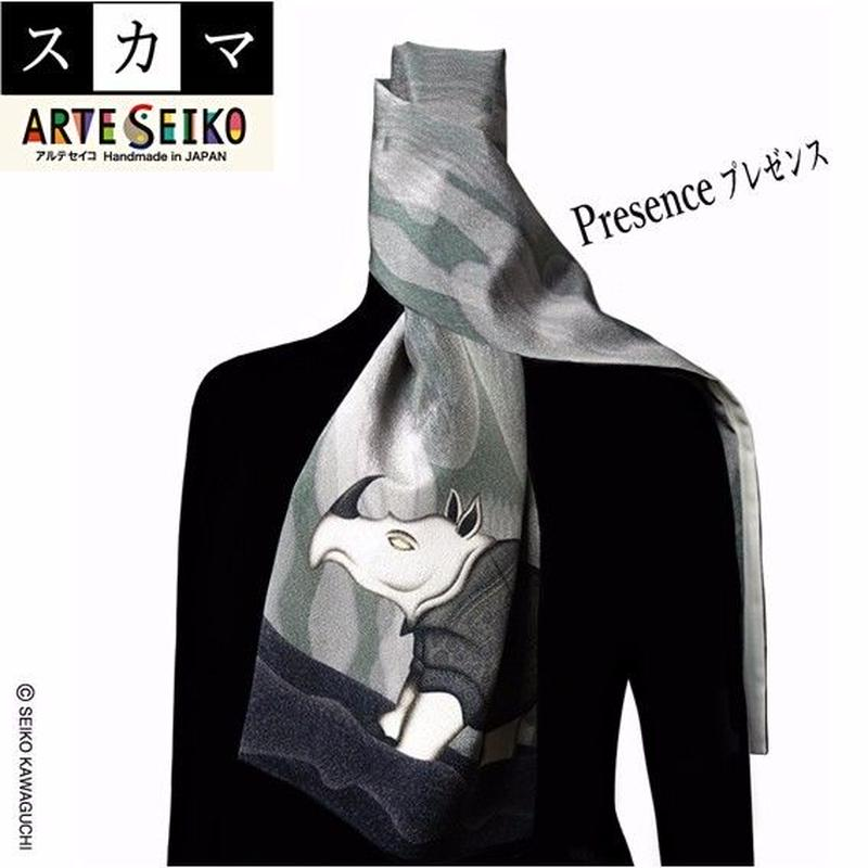 No.59 SCA★SCAMAスカマ【Presenceプレゼンス】オリジナルプリント &ハンドメイド少数販売品