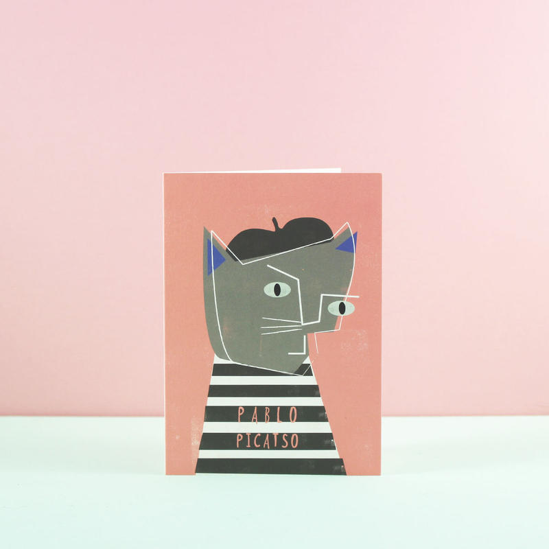 Niaski パブロ・ピキャッソ・カード(Pablo Picatso)