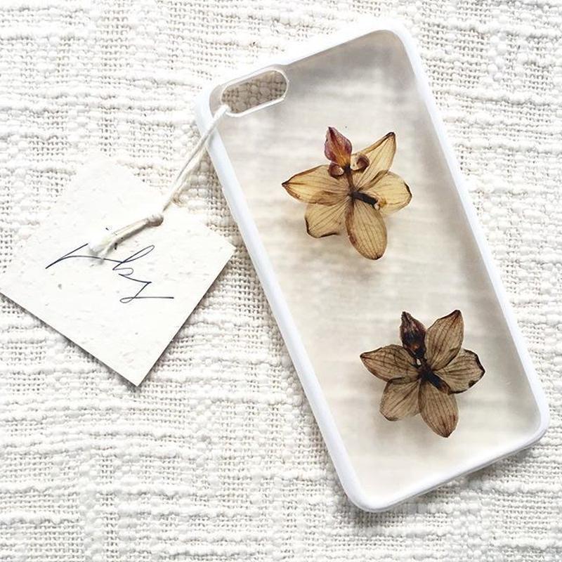 フローラル i phone 6/6S case (ホワイト)③