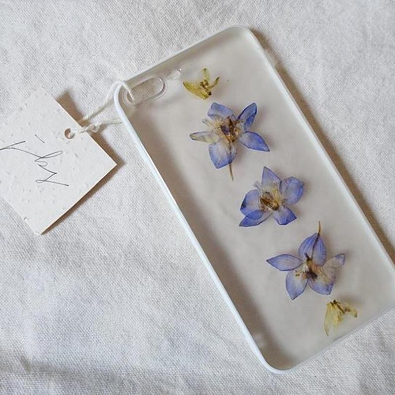 フローラル i phone7/8Plus case  (ホワイト)②