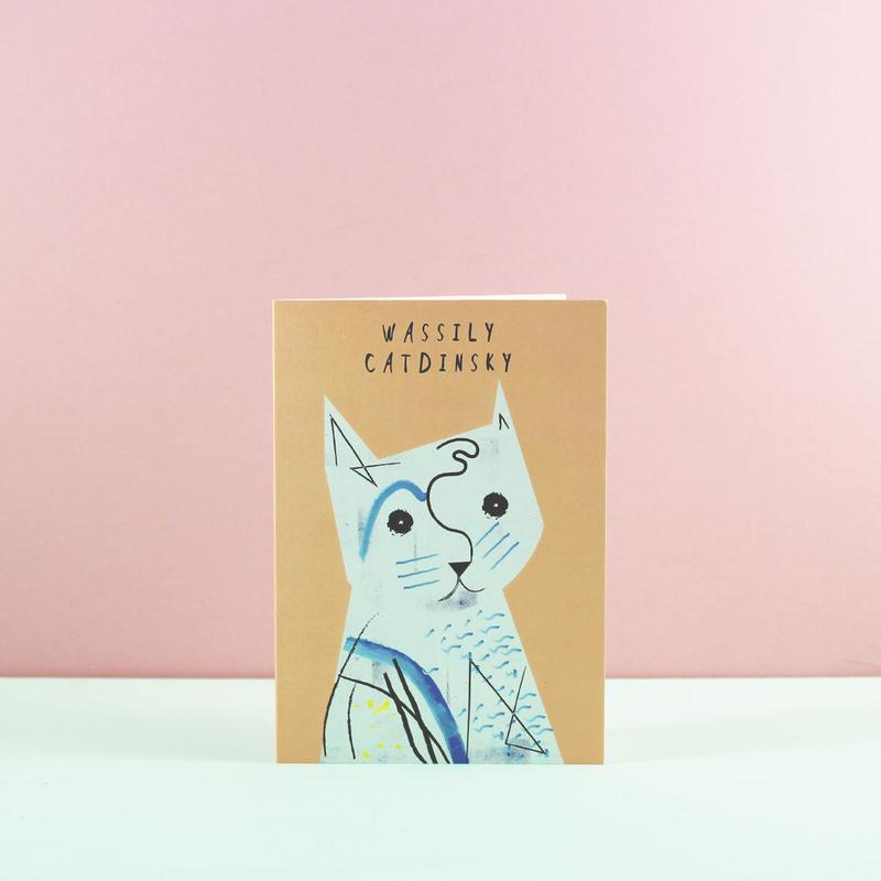Niaski   ワシリー・キャディンスキー・カード(Wassily Catdinsky)