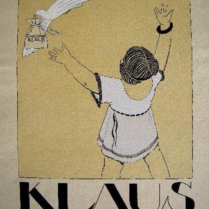 e:アール・デコのポショワール版画 1919-1920年制作   KLAUS  送料無料
