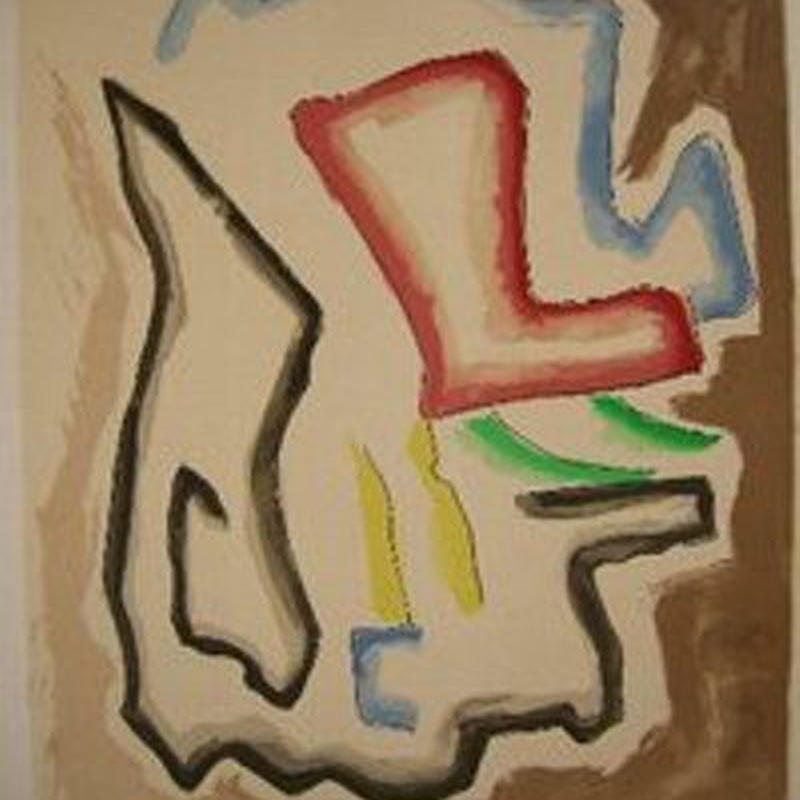 売却済み 巨匠Man Ray  マン レイのオリジナルリトグラフ 1971年刊行  限定180部 自筆サイン    M-1