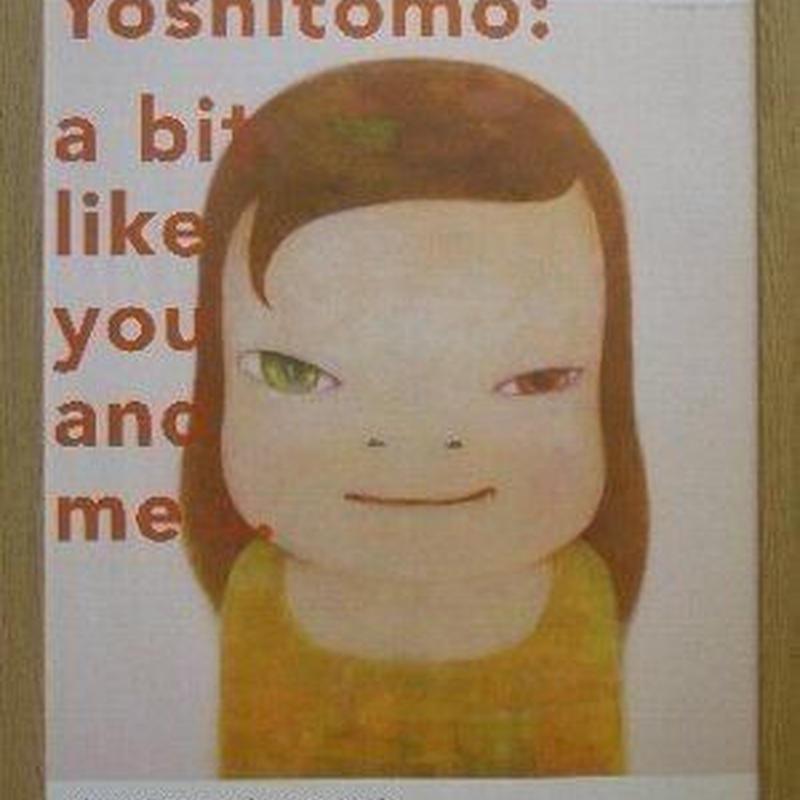 奈良美智 展覧会オリジナルポスター{オフセット}             *数ヶ月前完売したつもりの作品が仕舞い忘れで1点出てきましたので出品いたします。以前ご注文いただいたのに完売でお断りしたお客様申し訳有りません。