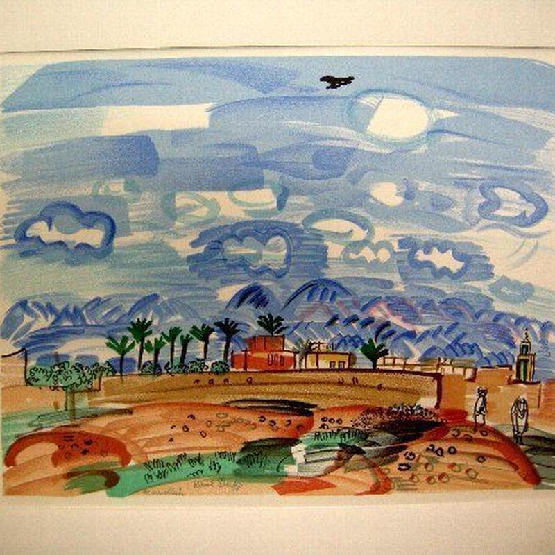 Raoul  Dufy ラウル・デュフィのリトグラフ