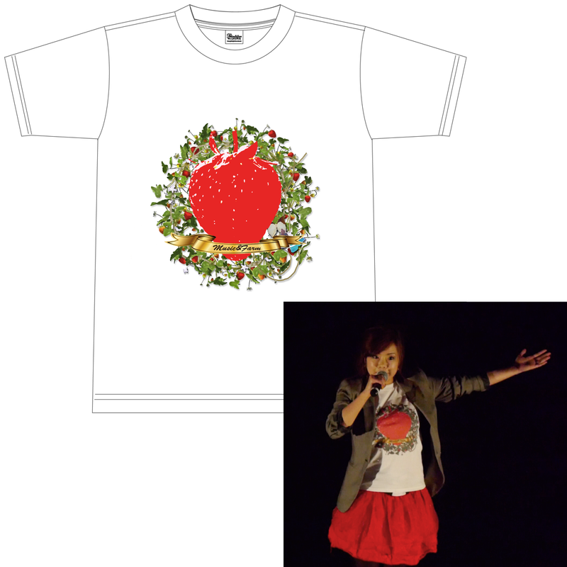 ◆緊急発売◆「いちごロックフェス」限定Tシャツ!