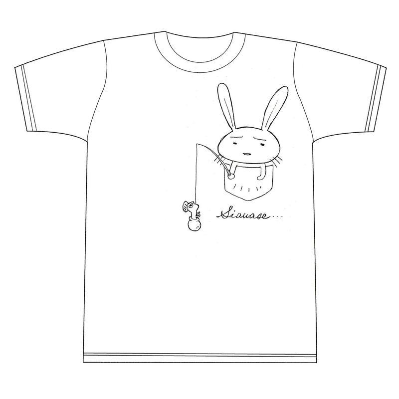 【期間限定販売】中川いさみ先生 秋の「しあわせシャツ」第2弾↑イラストをクリック↑