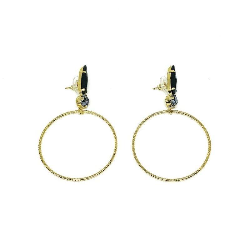 18E24 Pierced Earrings