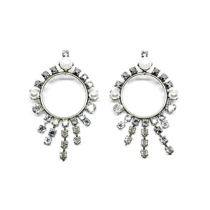 ASTEROID Pierced Earrings