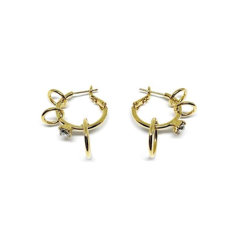 CERES Pierced Hoop Earrings