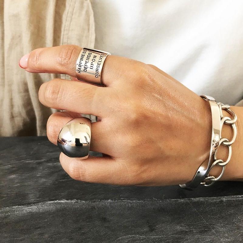 silver925 ボリューム ring