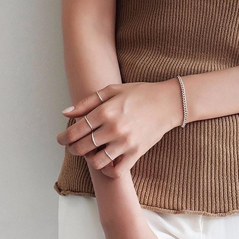 silver925 4Pset rings