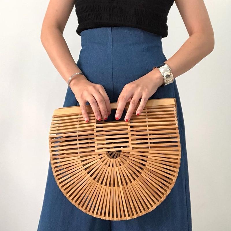 Vintage Bamboo Bag