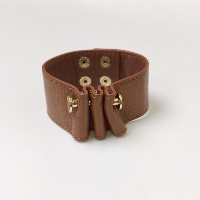 Leather Bangle 2col