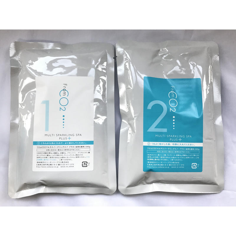 フロムCO2 マルチスパークリングスパ プラス(大袋)【詰め替え用】