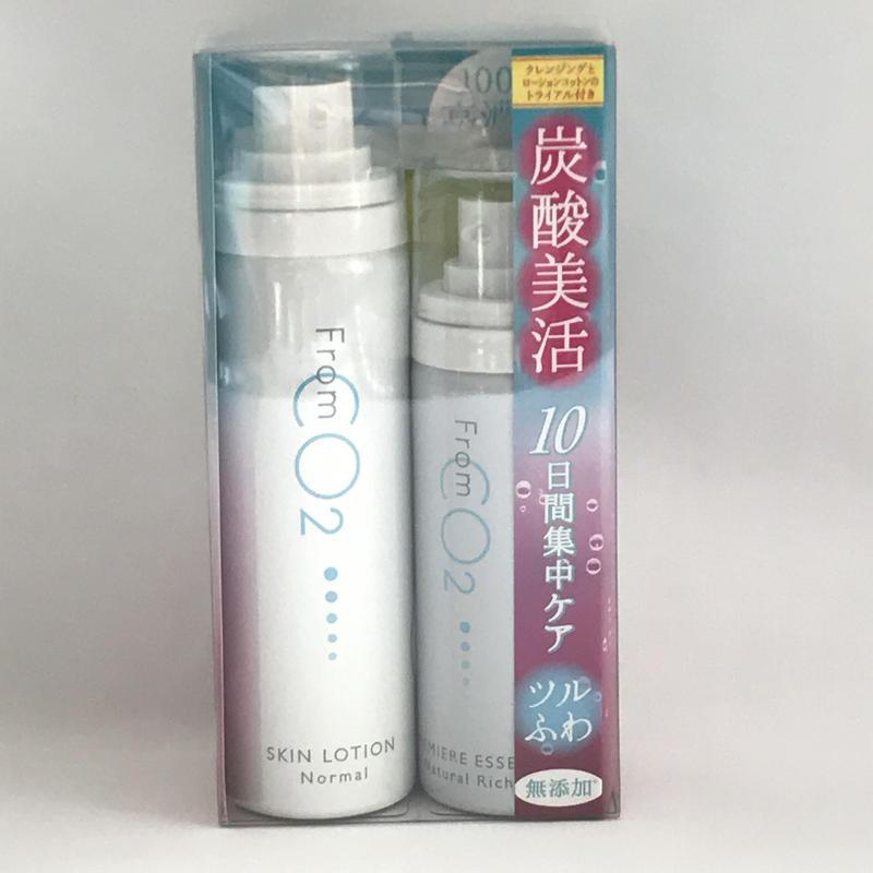 フロムCO2 美肌セット ノーマルタイプ (お試しサイズ)