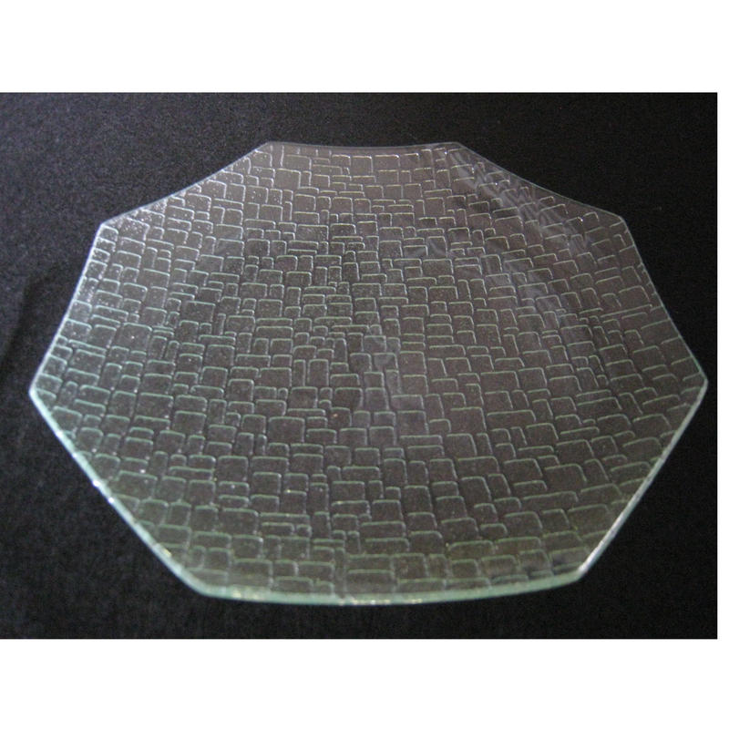 昭和型ガラス「つづれ」 皿 八角形 中(Φ150mm)