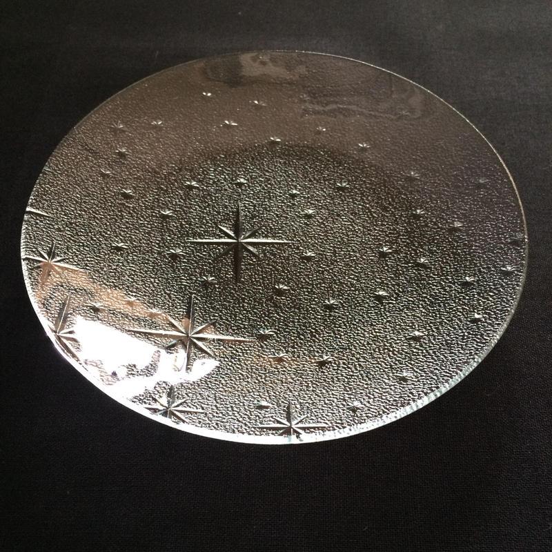 昭和型ガラス「銀河」 皿 円形 小(Φ120mm)