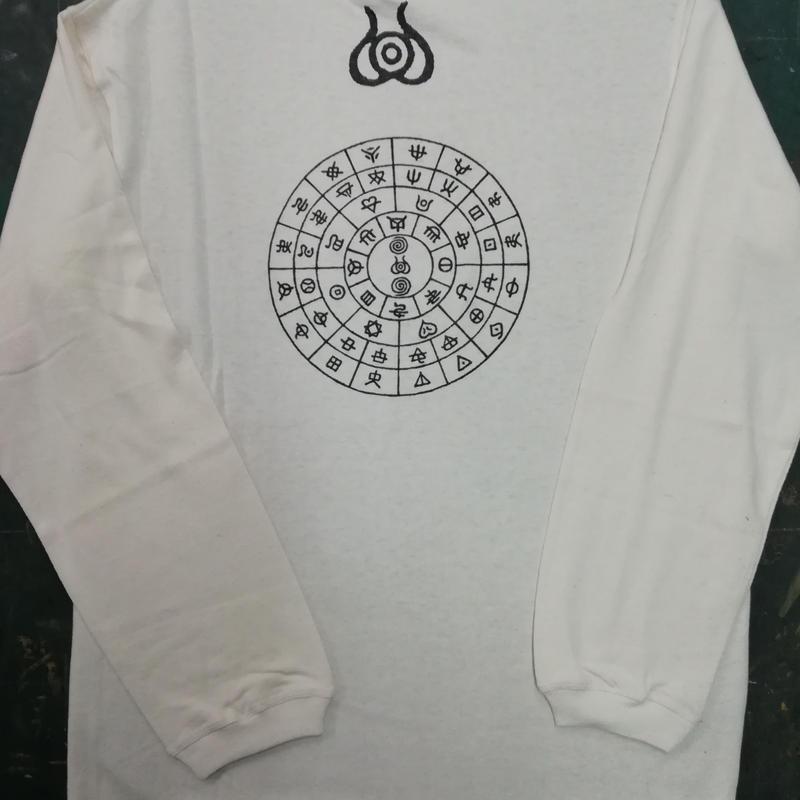 【特別注文】ロングTシャツ麻生地 ふとまに 麻炭100% 注文番号:0002