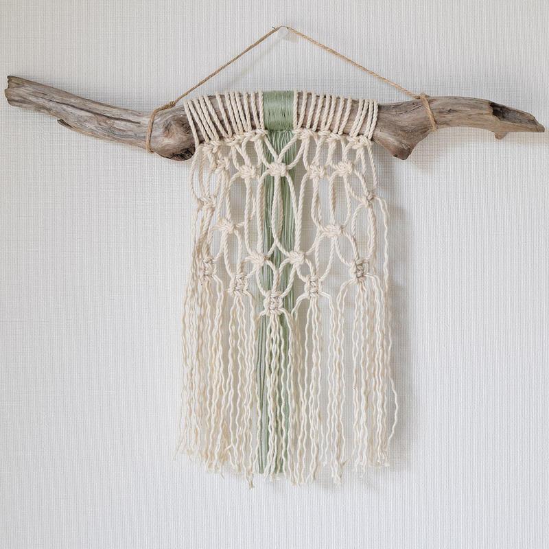 macramé tapestryM1604-03