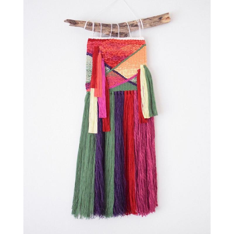 weaving 緋牡丹