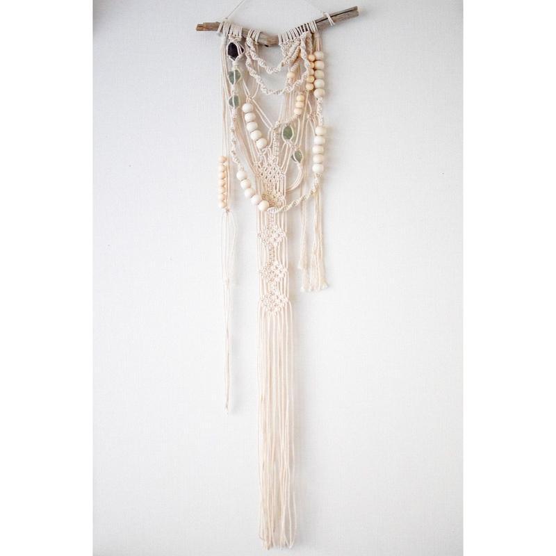 糸の模様と蛍石