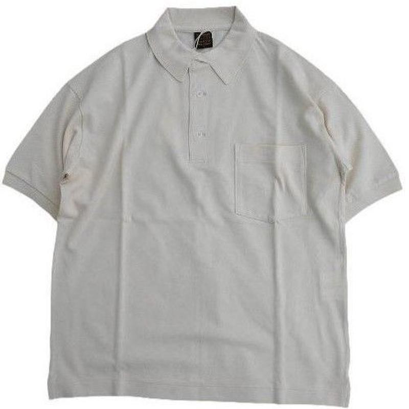 *A VONTADE(アボンタージ)  Lax polo S/S  IVORY