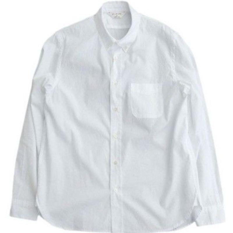 STILLBYHAND(スティルバイハンド)   ボタンダウンシャツ  WHITE
