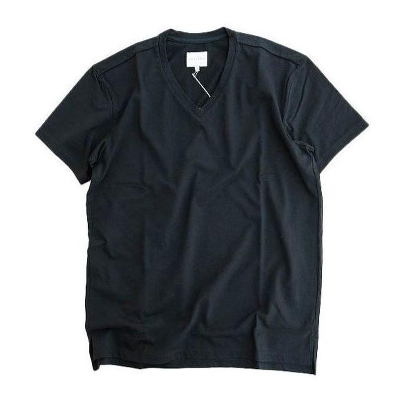 CYRLY(カーリー)   ABN SS V NECK TEE  BLACK