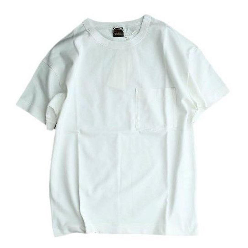 *A VONTADE(アボンタージ)   6.5oz Silket Pocket T-shits LooseFit  WHITE