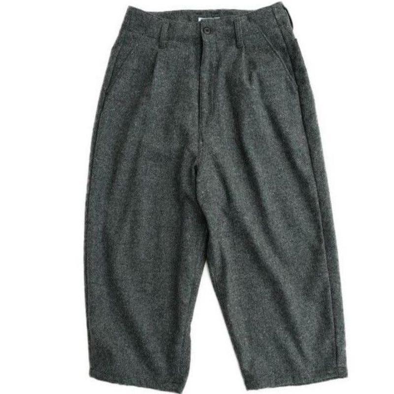 ORDINARY FITS(オーディナリーフィッツ)   DEEP PANTS wool  CHARCOAL