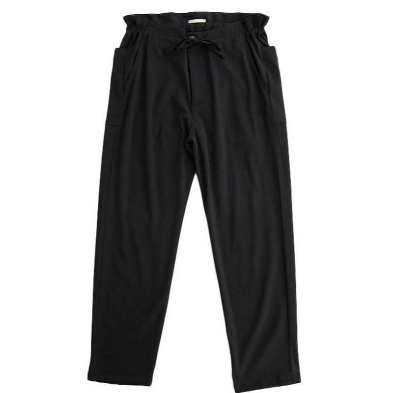 LAMOND(ラモンド)   FRENCH RELAX PANTS  BLACK