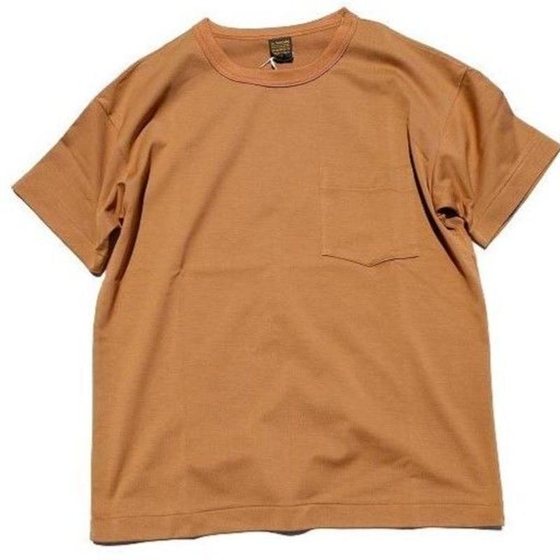 *A VONTADE(アボンタージ)   6.5oz Silket Pocket T-shits LooseFit  camel