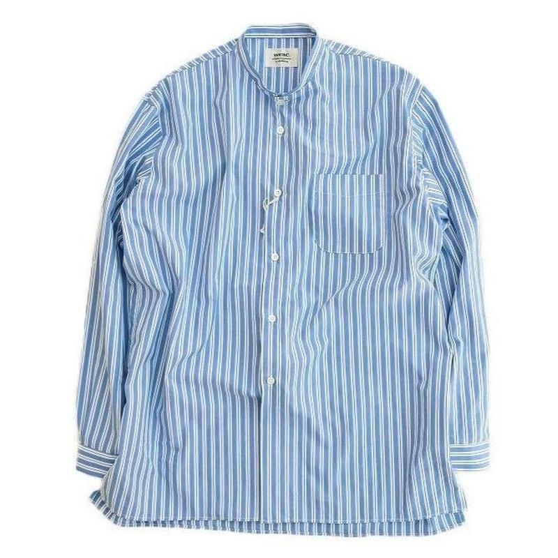 Weac.(ウィーク)   small standcollar shirt