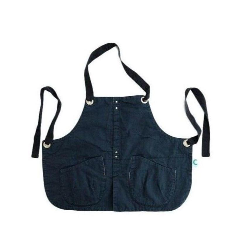 suolo(スオーロ)  GRIZZLY apron boys   BLACK