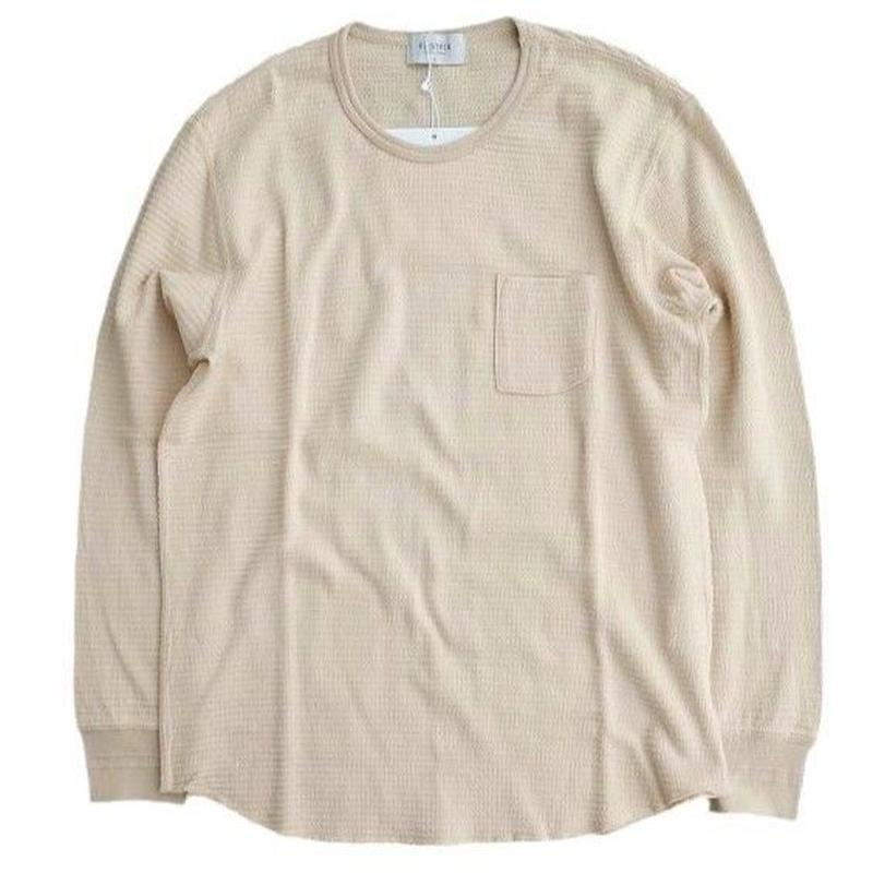 FLISTFIA(フリストフィア)   Crew Neck Thermal  OFFWHITE