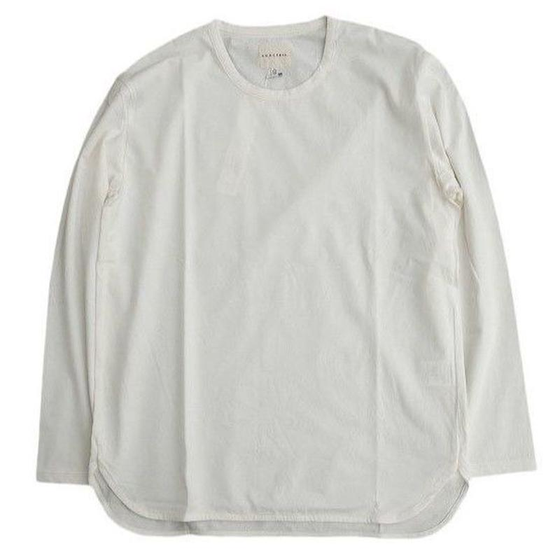 CURLY(カーリー)   SDH LS CN TEE  WHITE