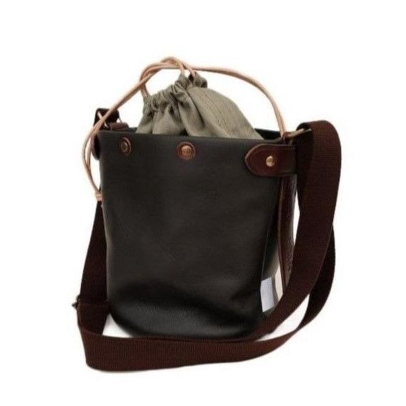 suolo(スオーロ)   SAND mini leather  CHOCO